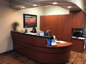 Front Desk at La Paz Spine and Rehab